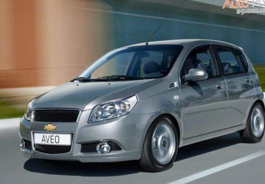 Aveo Hatchback 5d Chevrolet approved 2015