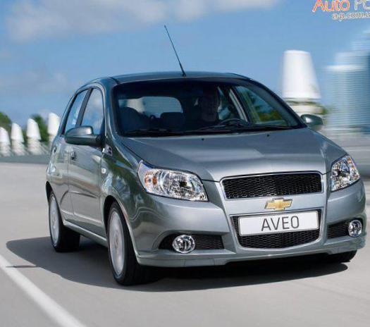Aveo Hatchback 5d Chevrolet review 2013