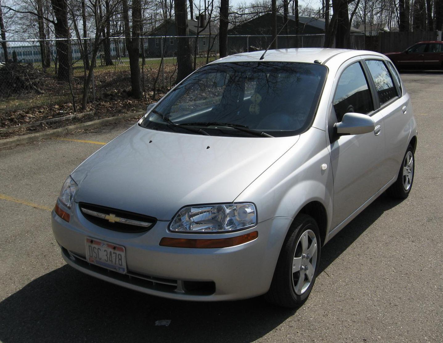 Chevrolet Aveo Specifications suv