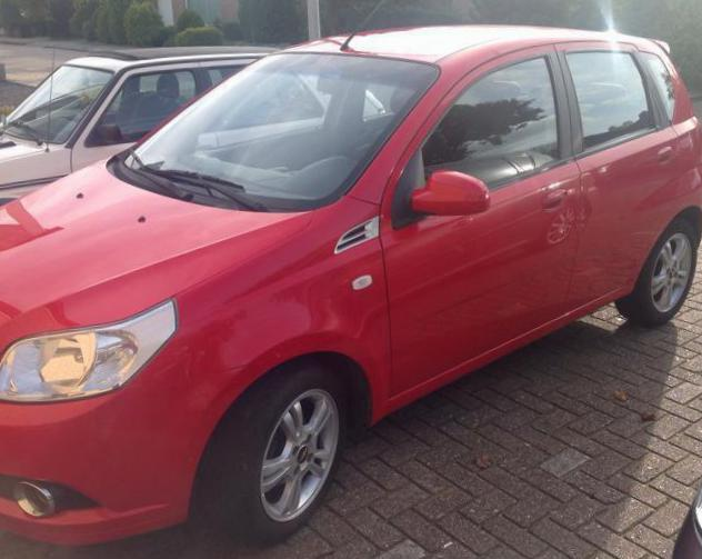 Aveo Hatchback 5d Chevrolet spec 2012