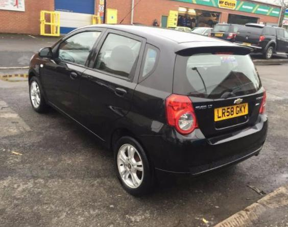 Chevrolet Aveo Hatchback 5d lease suv