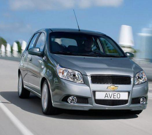 Chevrolet Aveo Hatchback 5d Specifications 2013