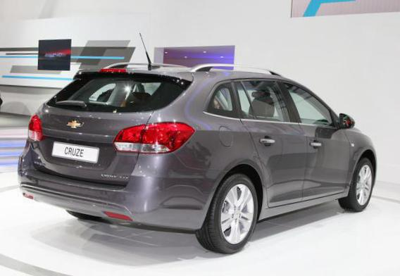 Chevrolet Cruze Station Wagon configuration 2012