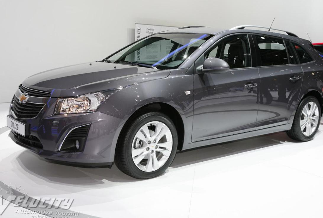 Chevrolet Cruze Station Wagon new 2104