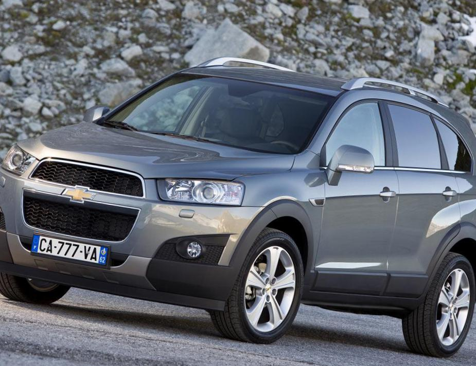 Chevrolet Captiva lease 2012