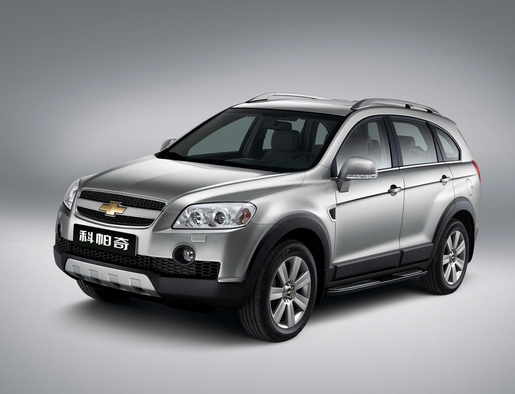 Captiva Chevrolet prices 2010