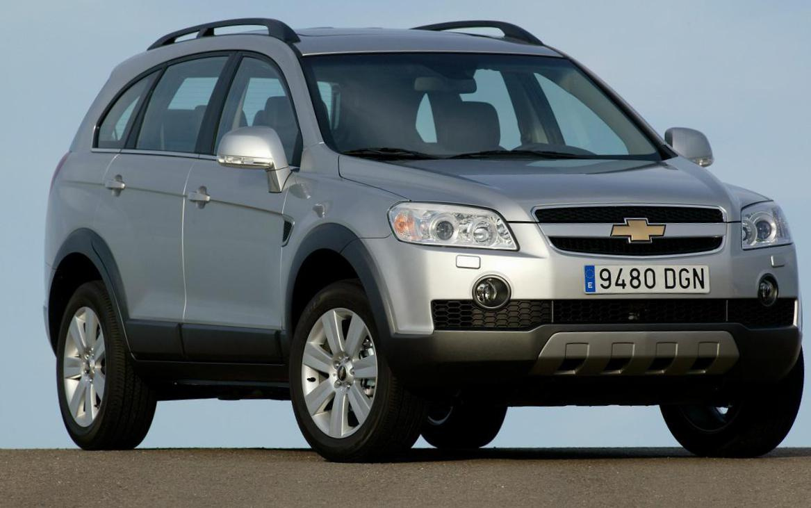 Chevrolet Captiva approved 2014