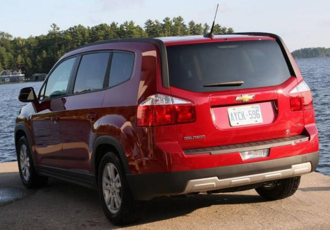 Orlando Chevrolet Specifications 2012
