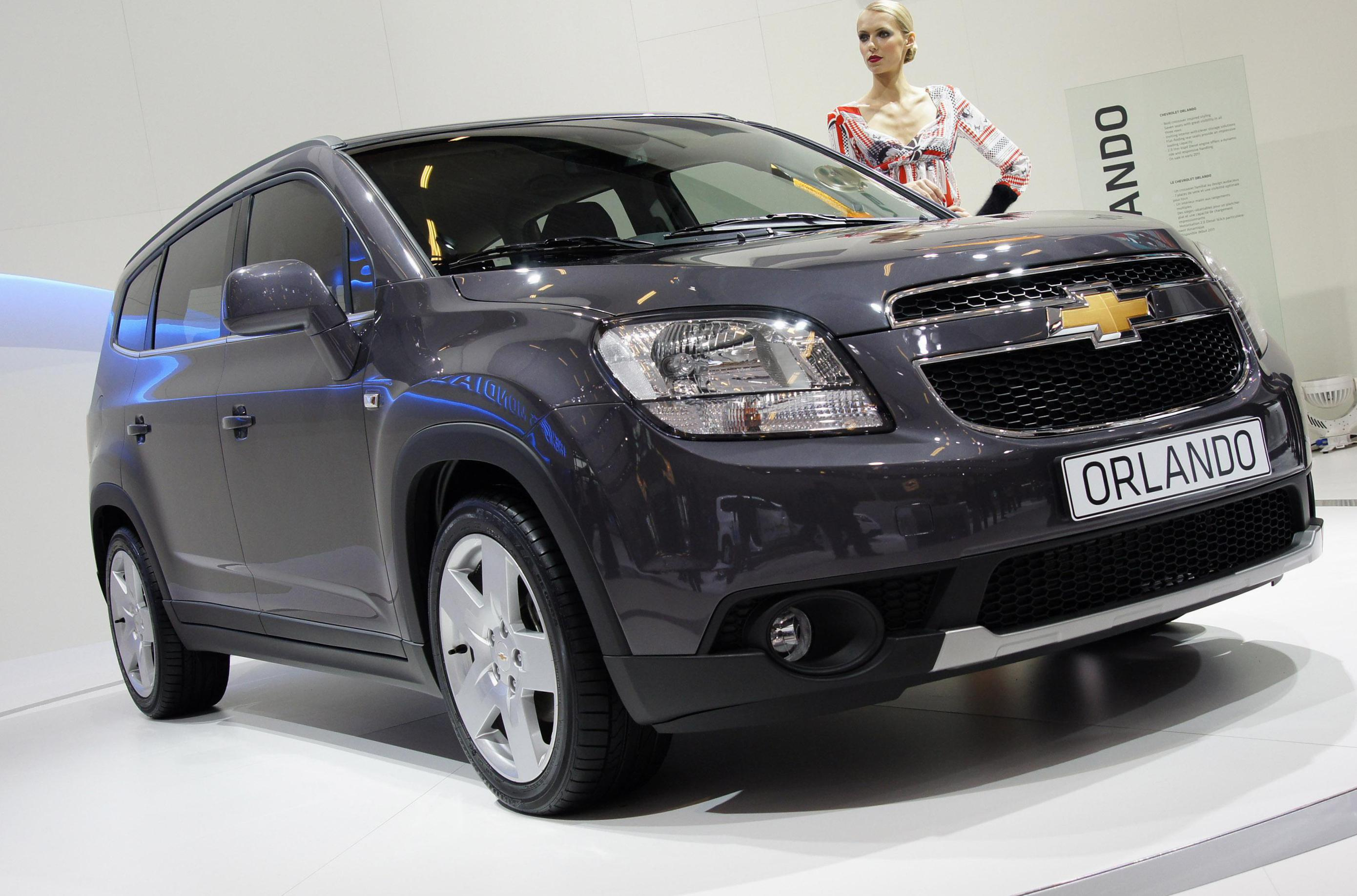 Chevrolet Orlando approved suv