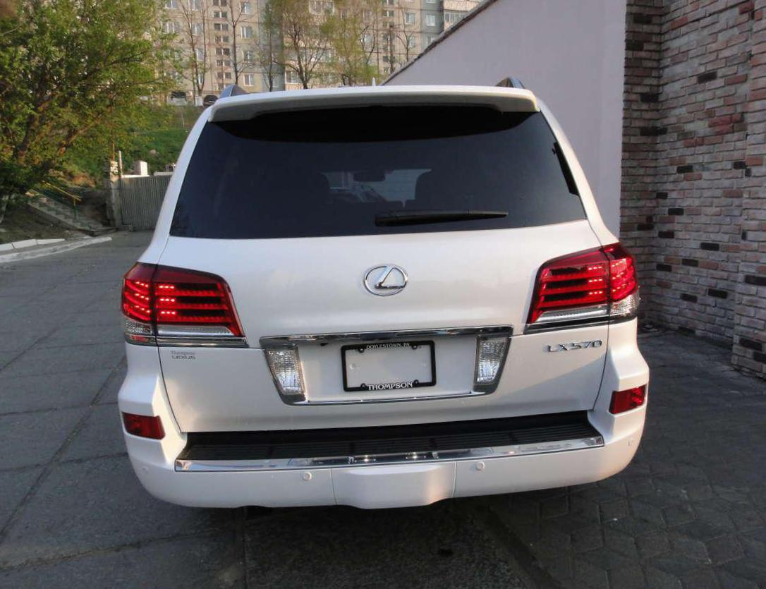 Lexus LX 570 reviews 2015