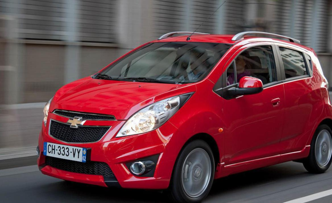 Chevrolet Spark configuration pickup