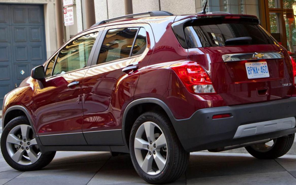 Chevrolet Tracker cost 2013