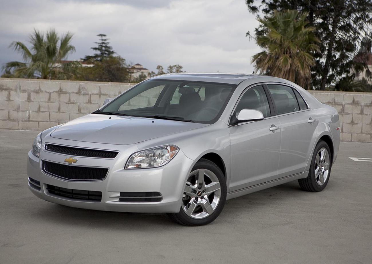 Malibu Chevrolet Specifications sedan