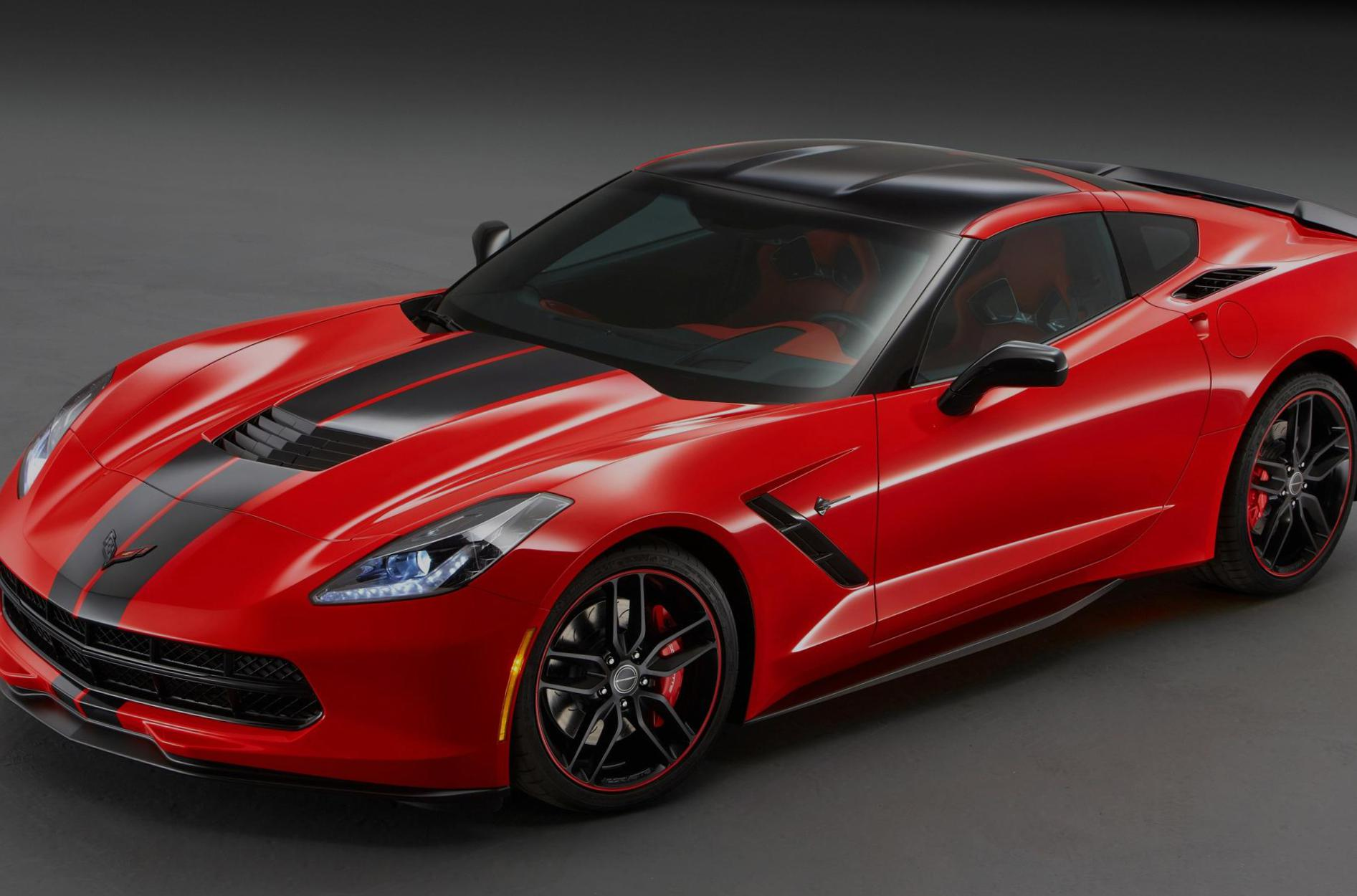 Chevrolet Corvette Stingray Coupe configuration 2012