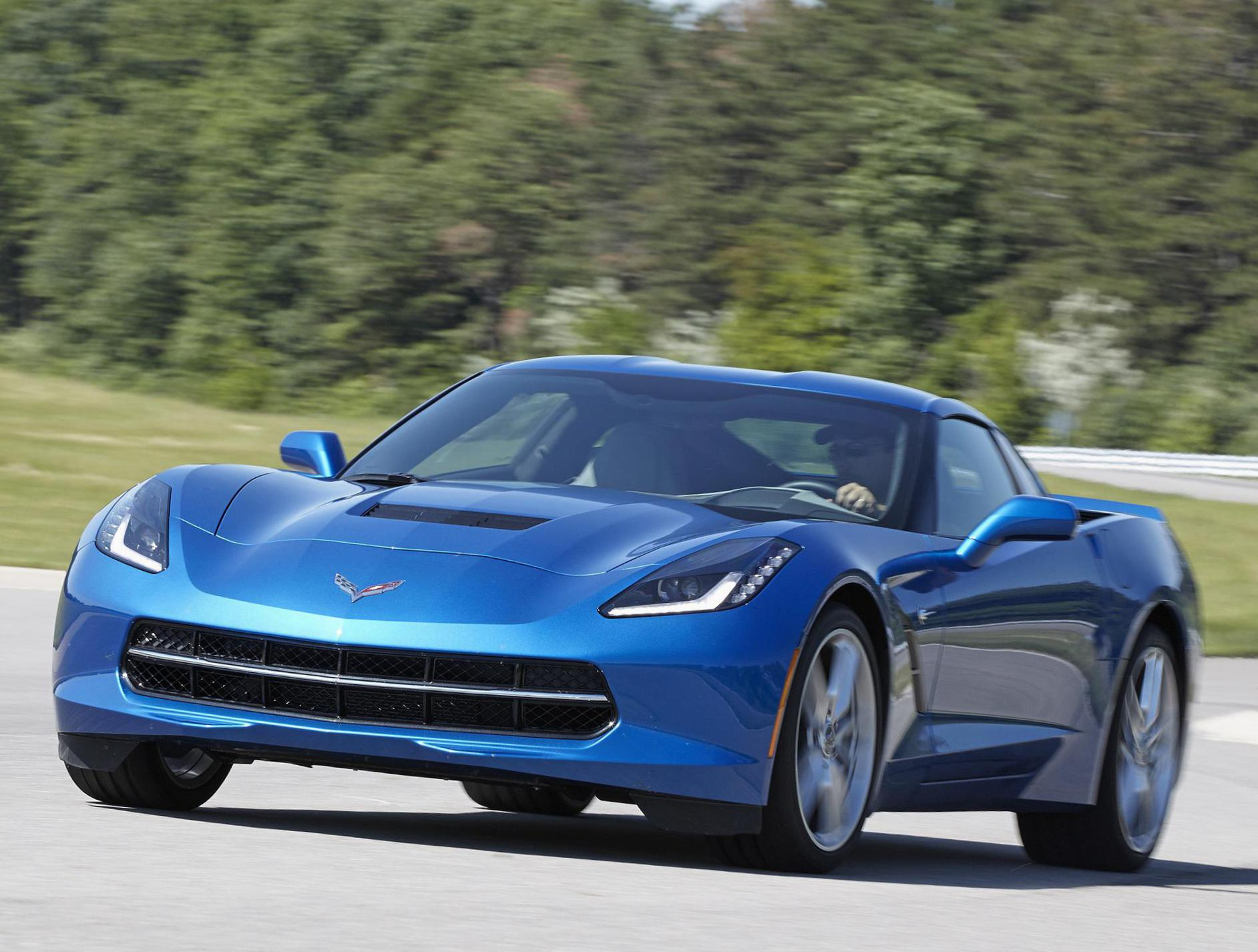 Corvette Stingray Coupe Chevrolet model 2015