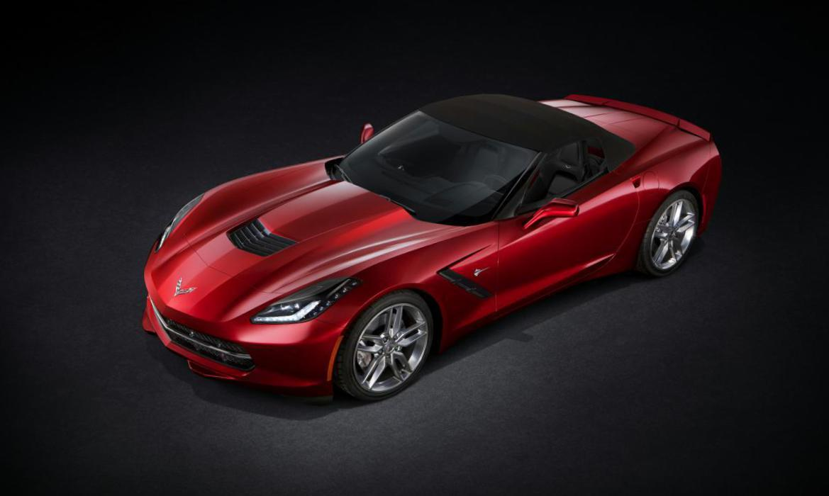 Chevrolet Corvette Stingray Convertible spec 2009