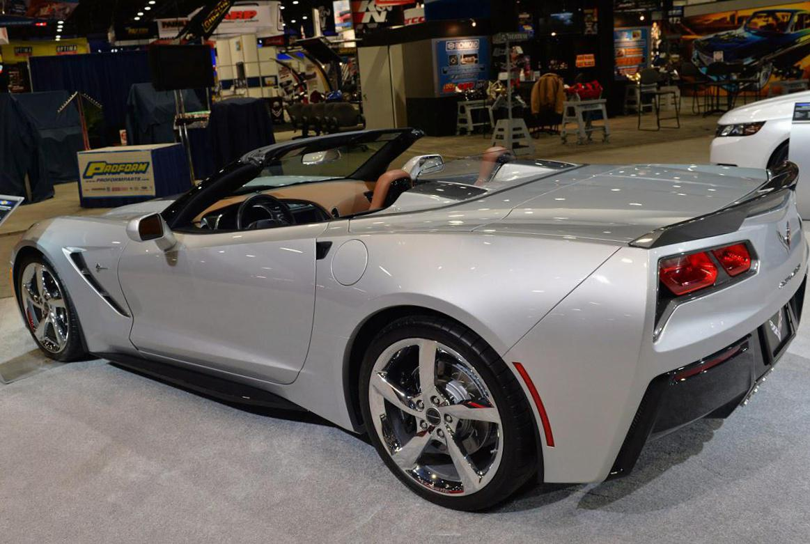 Corvette Stingray Convertible Chevrolet parts 2010