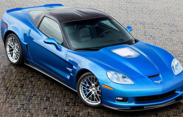 Chevrolet Corvette ZR1 how mach 2010