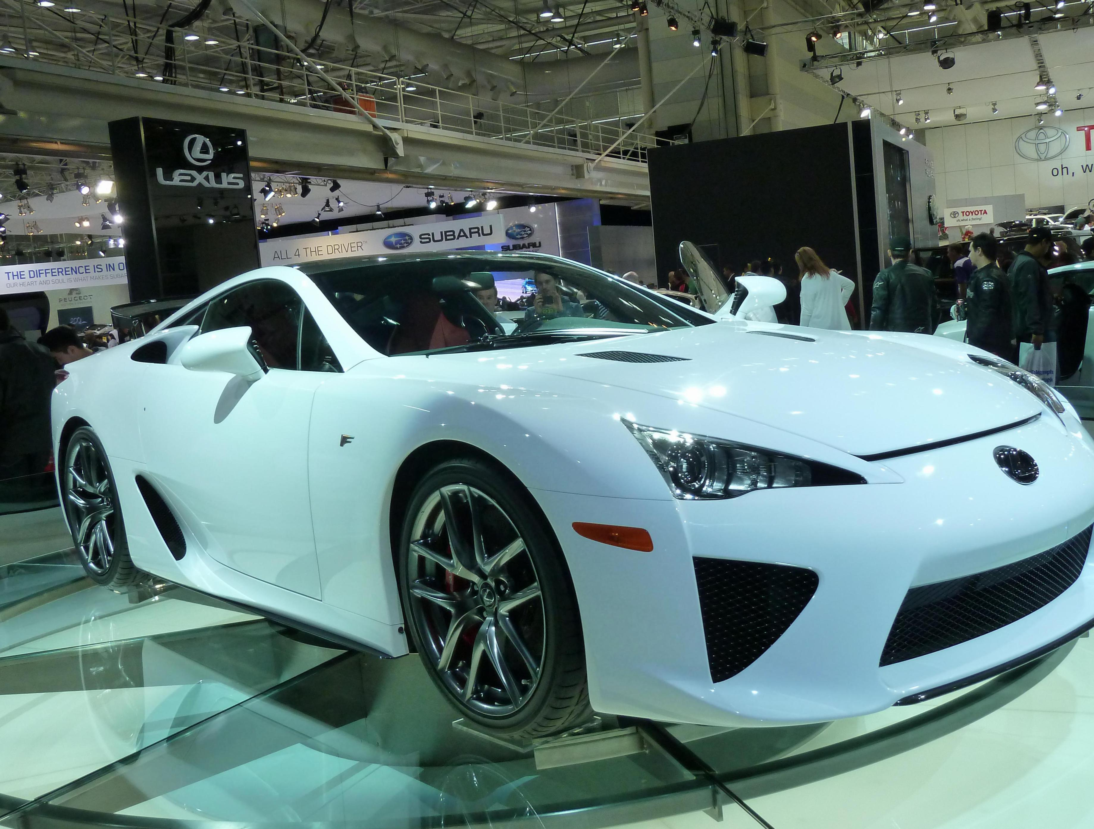 LFA Lexus review 2007