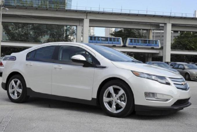 Chevrolet Volt how mach 2014