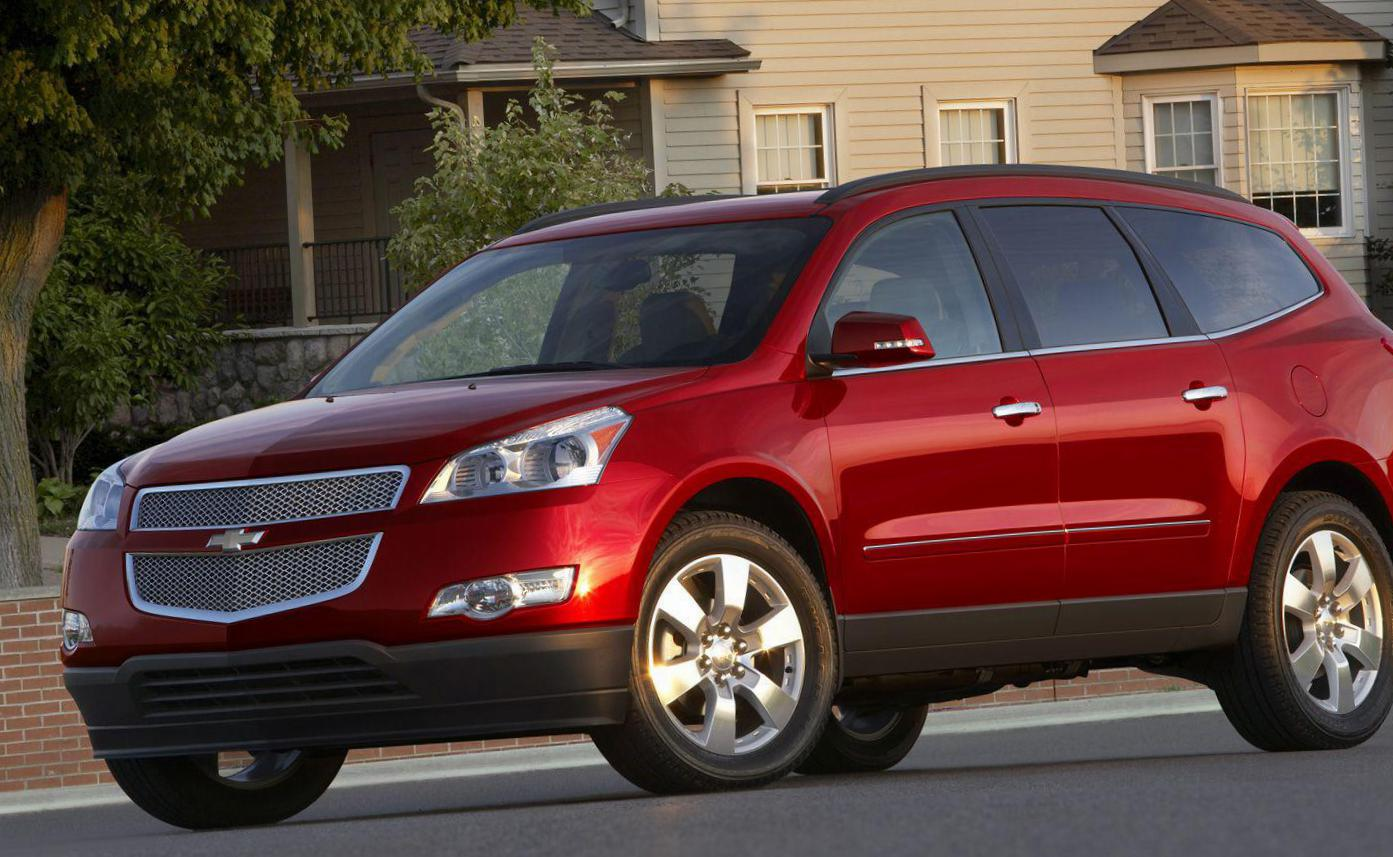 Chevrolet Traverse lease suv