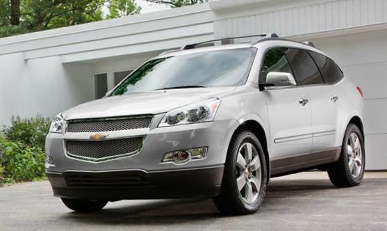 Chevrolet Traverse prices pickup