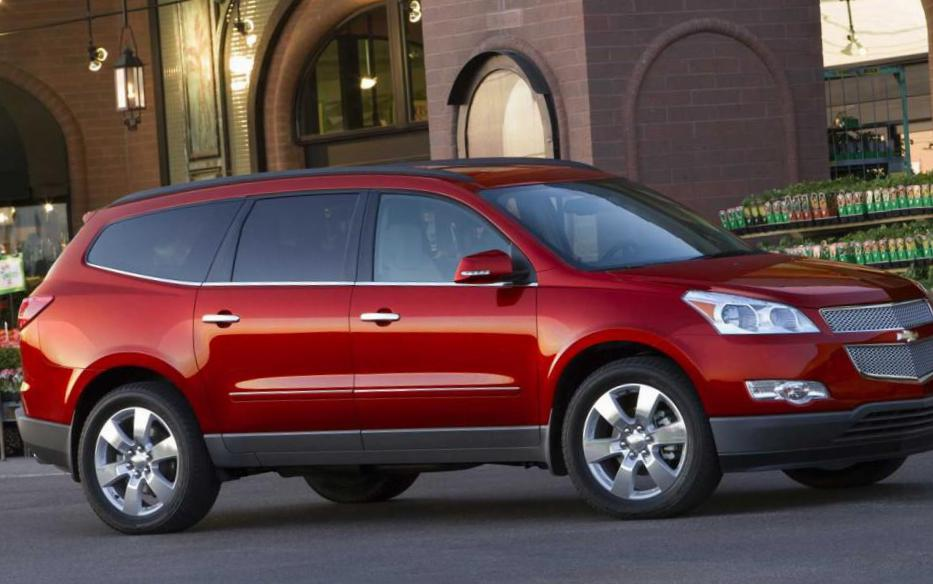 Chevrolet Traverse Specifications hatchback