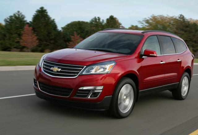 Traverse Chevrolet how mach 2013