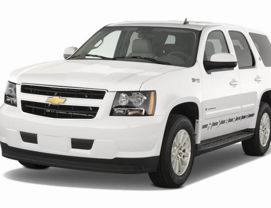 Chevrolet Tahoe review suv