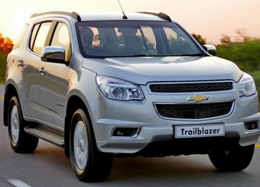Chevrolet Trailblazer price 2012