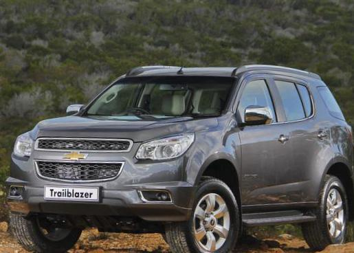 Chevrolet Trailblazer usa hatchback