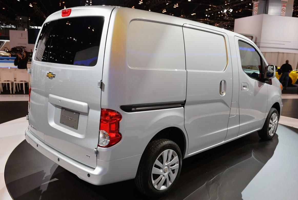 Chevrolet City Express Specifications 2013