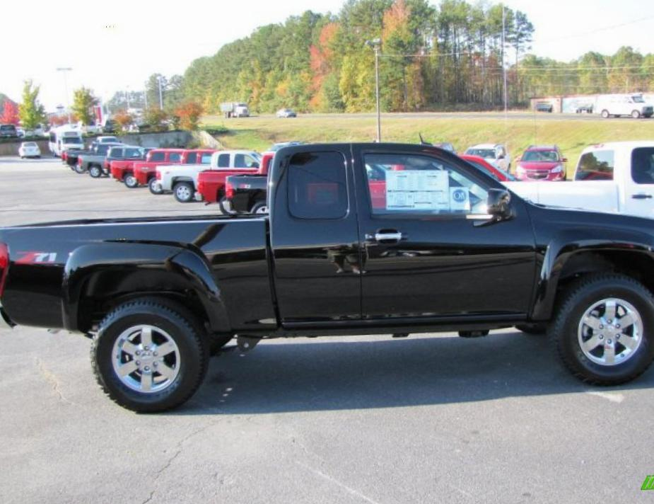 Chevrolet Colorado Extended Cab configuration 2010