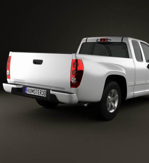 Chevrolet Colorado Extended Cab tuning 2009