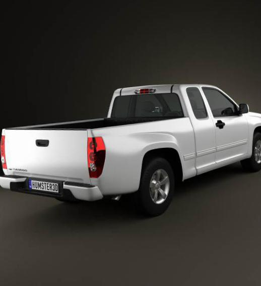 Colorado Extended Cab Chevrolet lease 2012