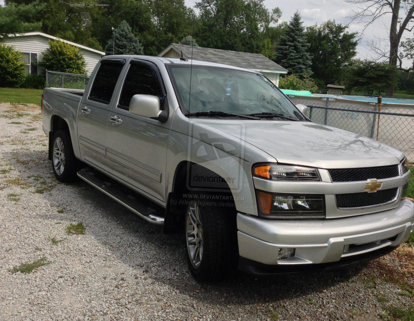 Chevrolet Colorado Crew Cab model 2010