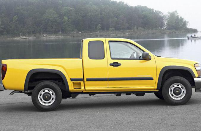 Chevrolet Colorado Extended Cab lease 2009