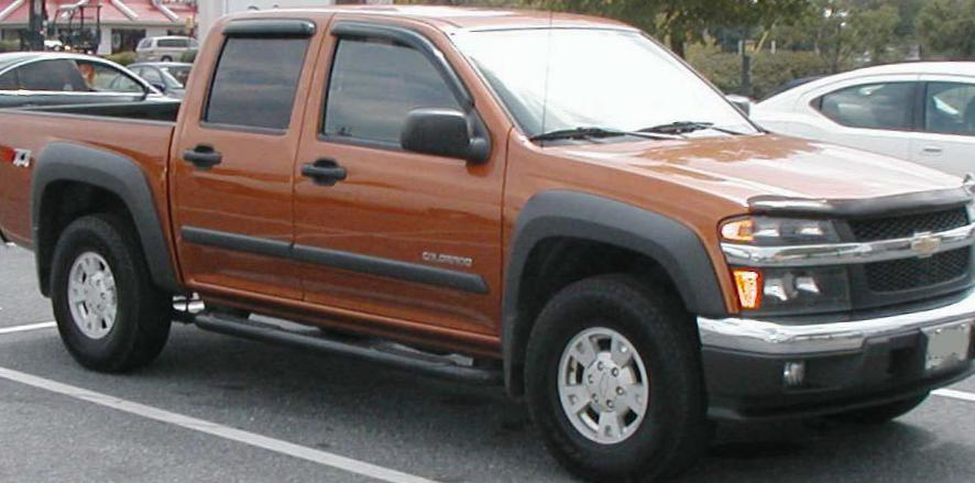 Chevrolet Colorado Crew Cab lease suv