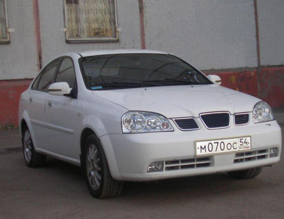 Chevrolet Lacetti Specifications suv