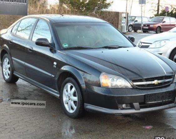 Epica Chevrolet review sedan