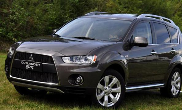 Outlander Mitsubishi prices 2004