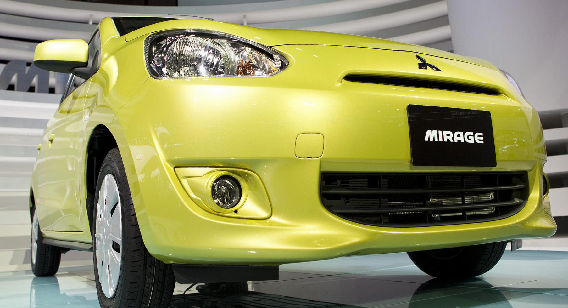 Mitsubishi Mirage prices sedan