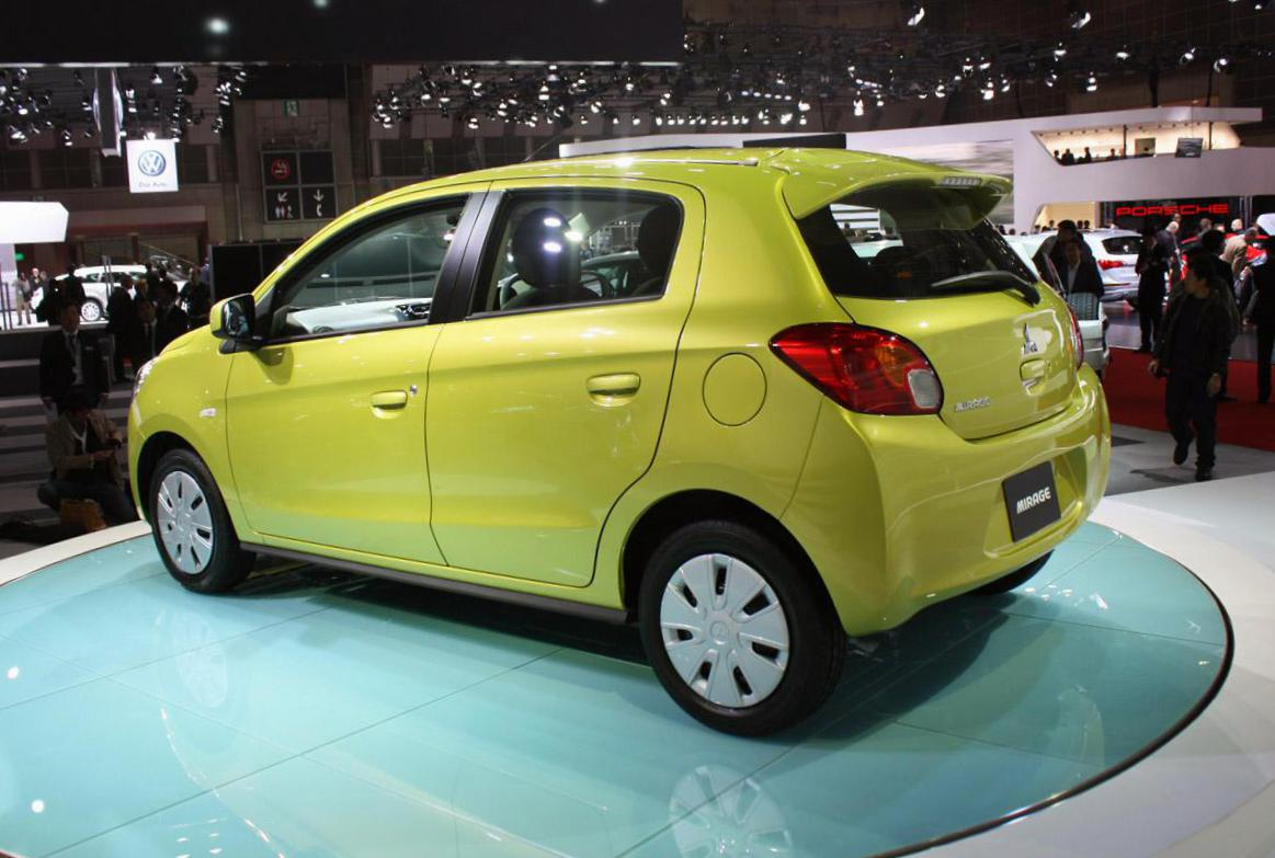 Mitsubishi Mirage Specifications 2013