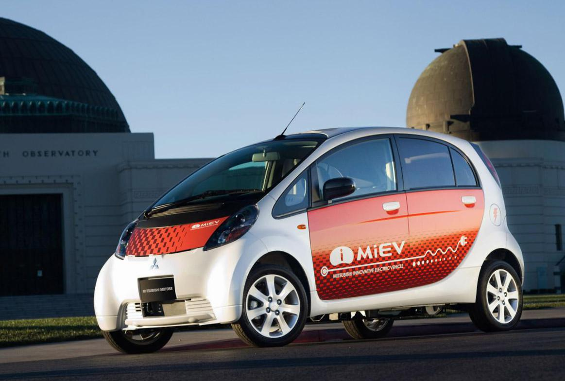 i-MiEV Mitsubishi new liftback