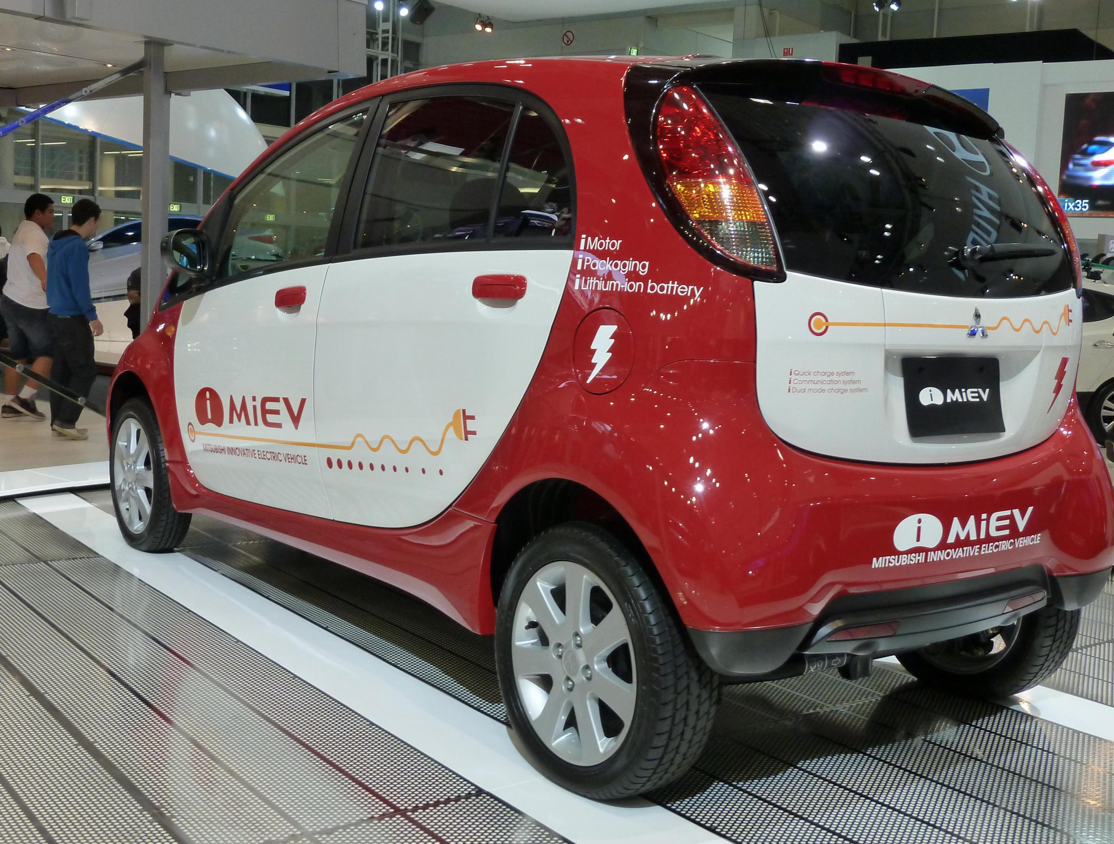 i-MiEV Mitsubishi Specifications 2010