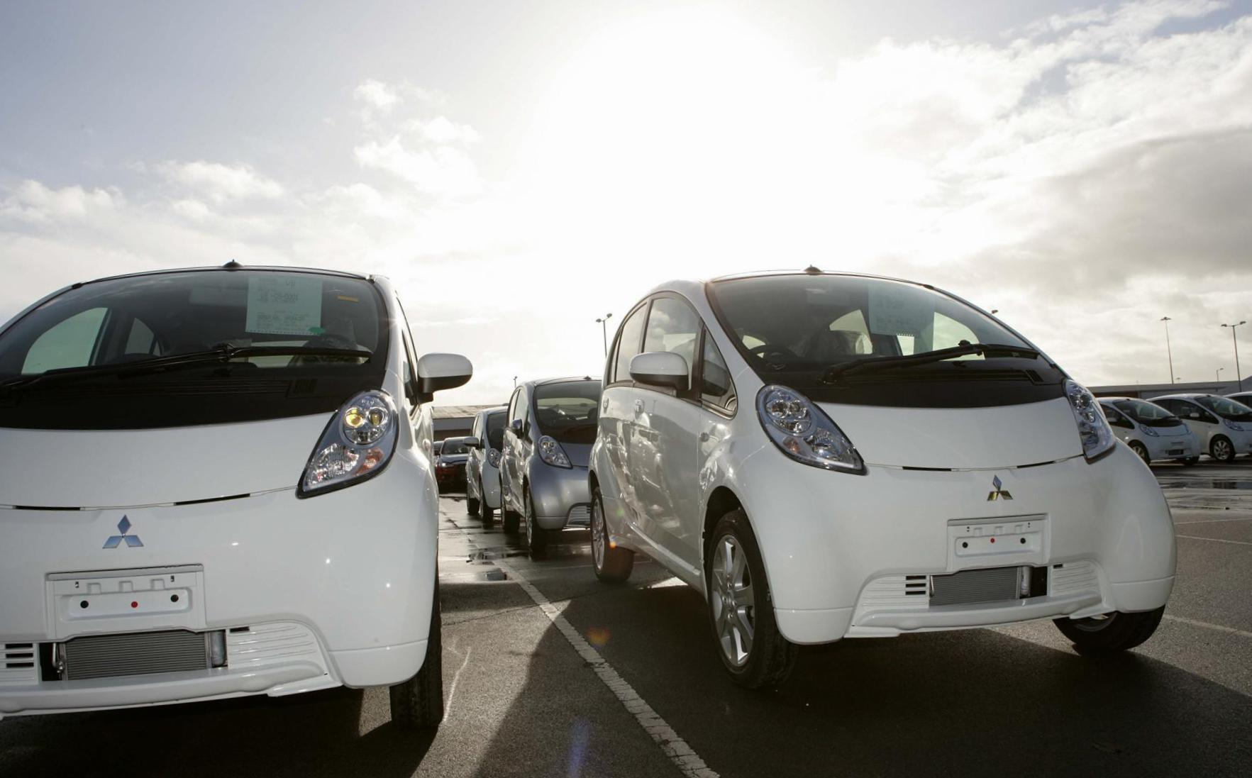 news sale in i for done mitsubishi on miev australia starting august us