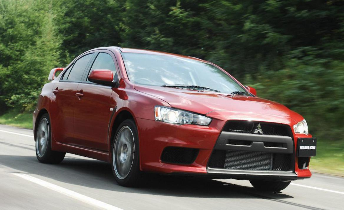 Lancer Evolution X Mitsubishi how mach hatchback