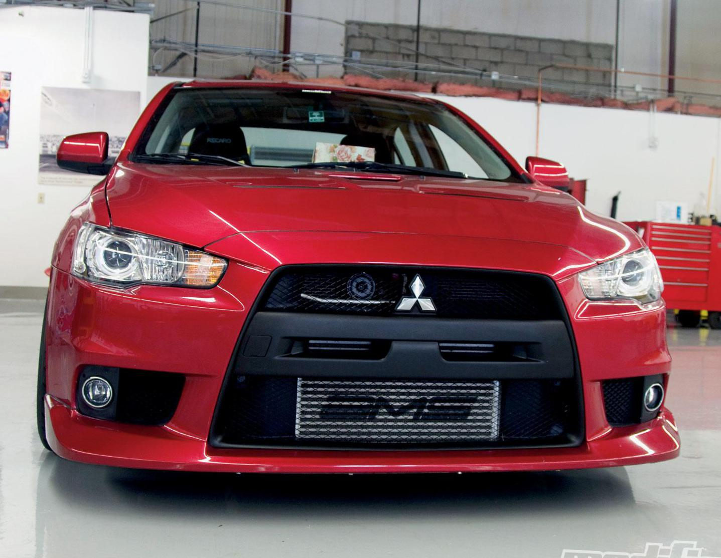 Lancer Evolution X Mitsubishi new 2012