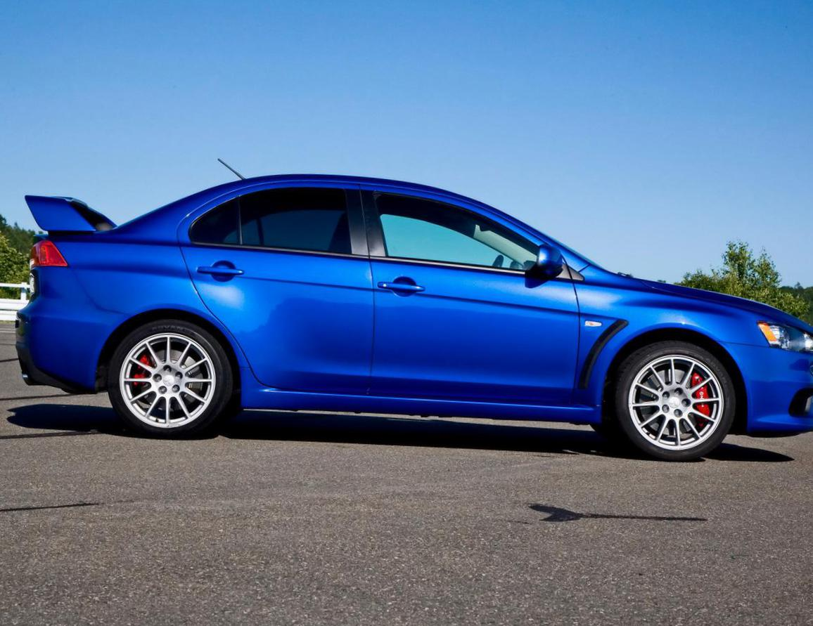 Lancer Evolution X Mitsubishi used coupe