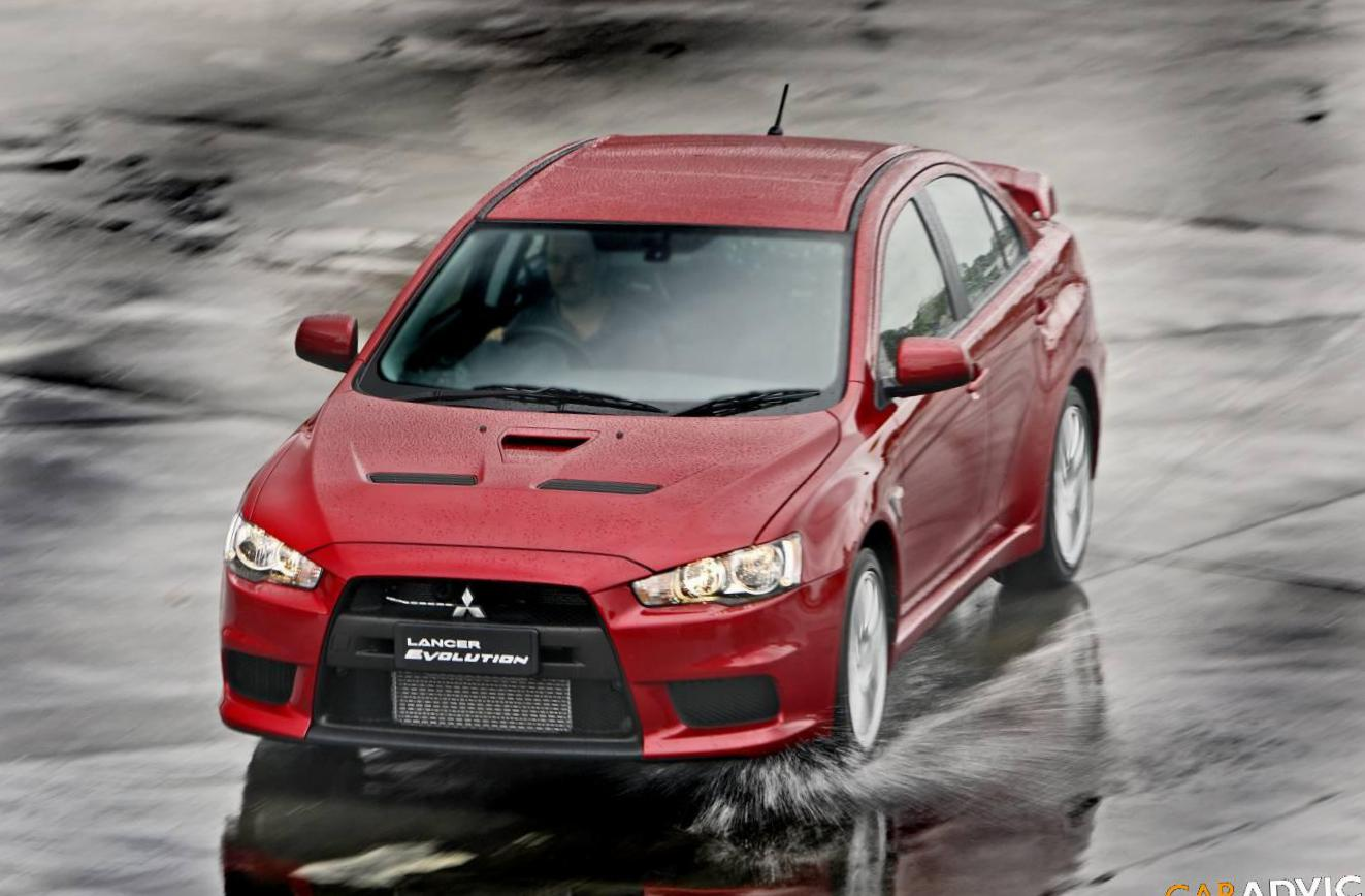 Mitsubishi Lancer Evolution X new hatchback